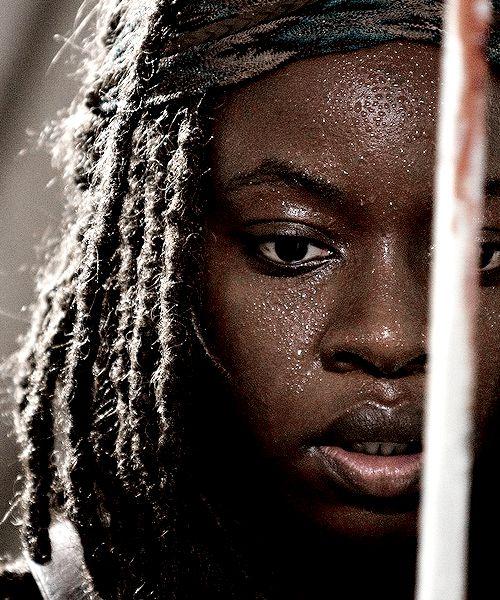 """The Walking Dead Season 6 Episode 8 """"Start to Finish"""" Michonne"""