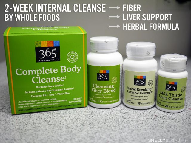 365 Complete Body Cleanse Product Review by Shelly In Real Life. This 2 week cleanse is on sale at Whole Foods this week for only $11.99 - might try it!