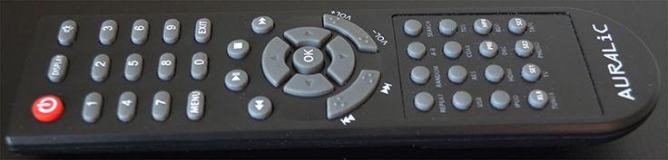 AURALiC POLARIS Wireless Streaming DAC Amplifier - Remote