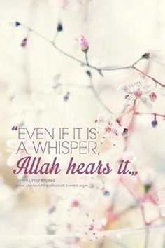 This is exactly why I never stop doing dua..Subhaan Allah..