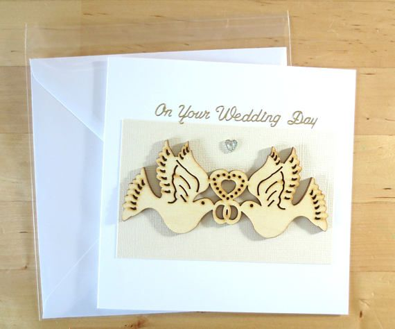 Check out this item in my Etsy shop https://www.etsy.com/uk/listing/521708620/unique-wedding-card-wedding-day-card