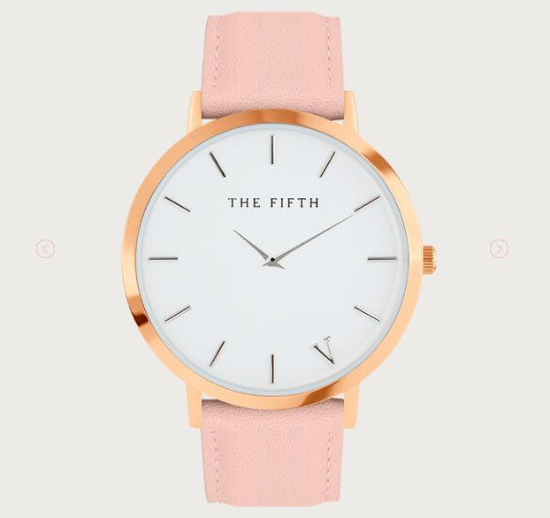 Stay productive in style with a gorgeous watch  The 5th Watches | Soho in Rose Gold & Peach