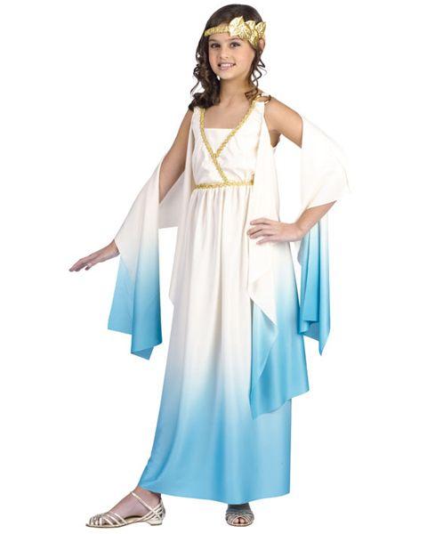 costumes for girls age 10-11 | Fantasia Infantil Deusa Grega