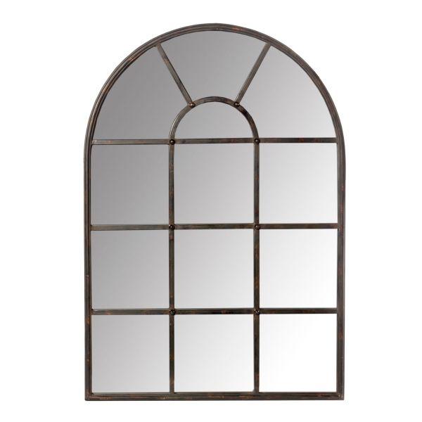 Dome Top Multi Panel Metal Mirror PC