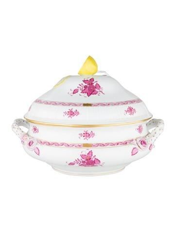 2ecdb598f6d3  Spring  AdoreWe  The RealReal -  Herend Herend Chinese Bouquet Soup Tureen  -