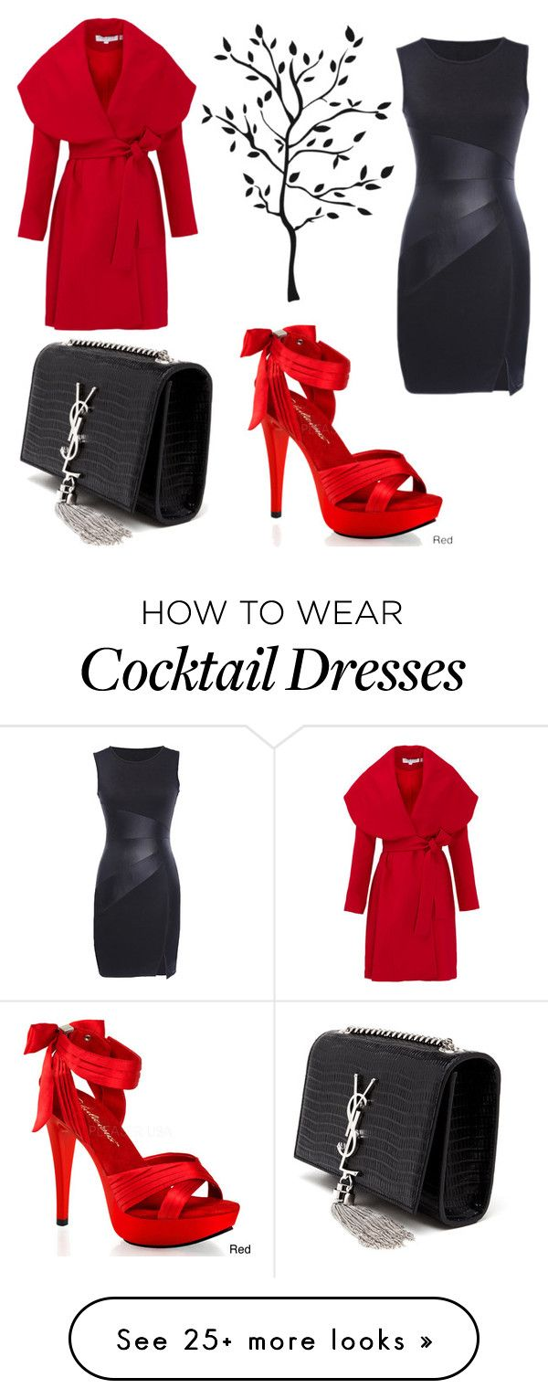 """Untitled #455"" by sadsmith on Polyvore featuring Keepsake the Label, Pleaser, Yves Saint Laurent, women's clothing, women's fashion, women, female, woman, misses and juniors"