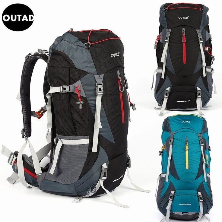60+5L Outdoor Camping Trekkingrucksack Rucksack Sporttasche Backpack Reisetasche