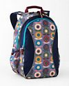 With all the features parents want and kids love, our Eco Signature Backpack is top of the class for its functionality, durability, and comfort along with its fresh line-up of Garnet Hill-exclusive prints. And there's a sustainable surprise: it's crafted of recycled-PET fabric, keeping reclaimed plastic bottles and polyester out of landfills and water supplies, and requiring up to 53 less energy to produce. Designed for age 7 and up. Two large zipper compartments, one with two-way zi...