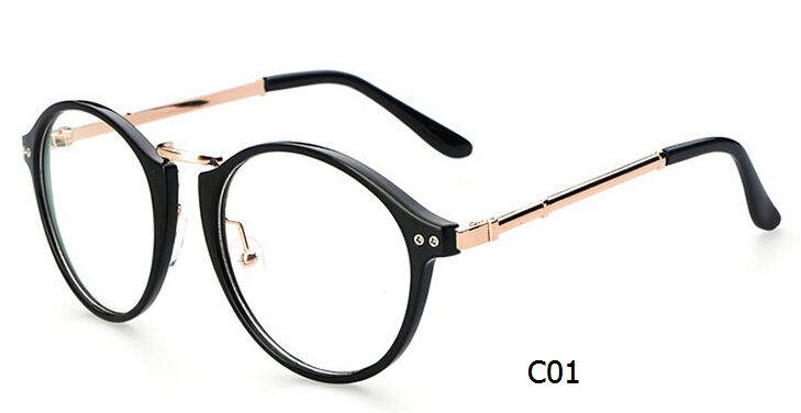 2014 korea stylish glasses frame quality vintage round eyeglasses ...