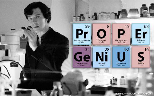 Sherlock! PrOPEr GeNiUS | @mylittlecornerofsherlock.tumblr