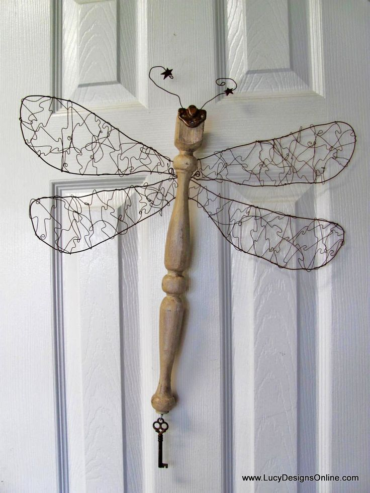 Lucy Designs: Wire/Metal Wings