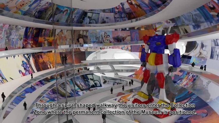 MVRDV China Comic & Animation Museum (Animation by Wieland & Gouwens)
