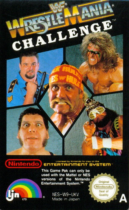 WWF Wrestlemania Challenge Hulk Hogan,  Macho Man,  Ultimate Warrior Nintendo ad