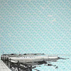 Jubilee Pool Penzance by Clare Halifax, 3 colour screenprint, 45 x45 cm, £225 unframed.