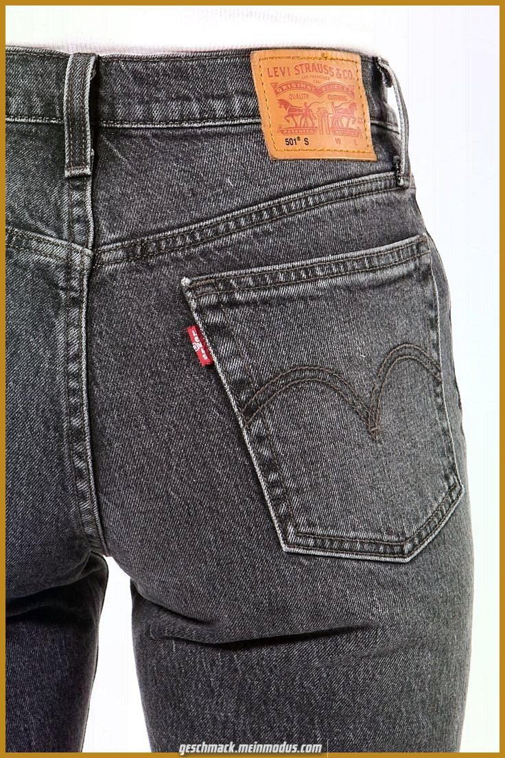 Imily Bela High Waist Jeans Damen Skinny Stretch Regular Fit Basic Jeanshose Straight Hose