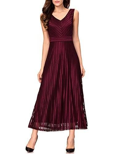 Shop https://goo.gl/ZP6ok4   Noctflos Women's Striped Lace V-Neck Evening Cocktail Party Formal Maxi Dress   Check Store Price https://goo.gl/ZP6ok4  #Cocktail #Dress #Evening #Formal #Lace #Maxi #Noctflos #Party #Striped #Vneck #Womens