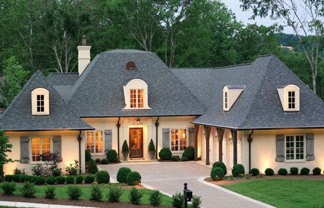 Best 25 french country homes ideas on pinterest for Custom french country house plans