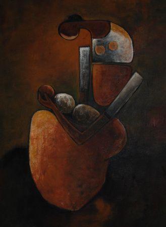 Mother & Child             30cm x 40cm          Oil on Canvas