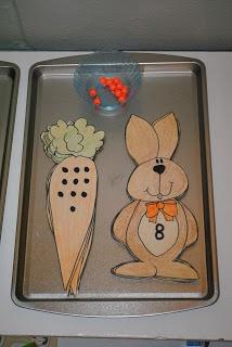 1,1 relatie wortel + konijn eenvoudiger maken: beide met bolletjes, beide met cijfers.