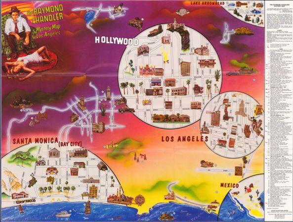 Vintage Raymond Mystery Map
