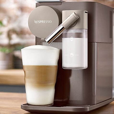 Buy Nespresso Lattissima One Coffee Machine Online at johnlewis.com