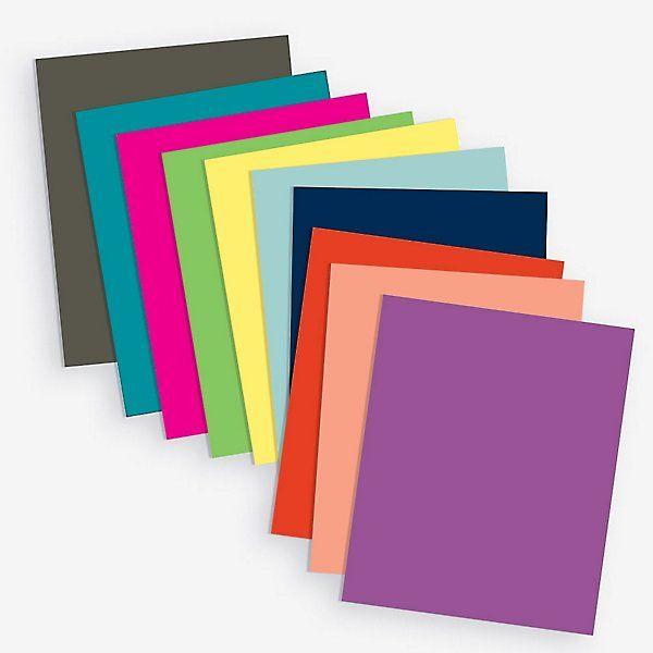 Multi Color Paper 8 5 X 11 Craft Paper Source Color Card Paper Source Paper
