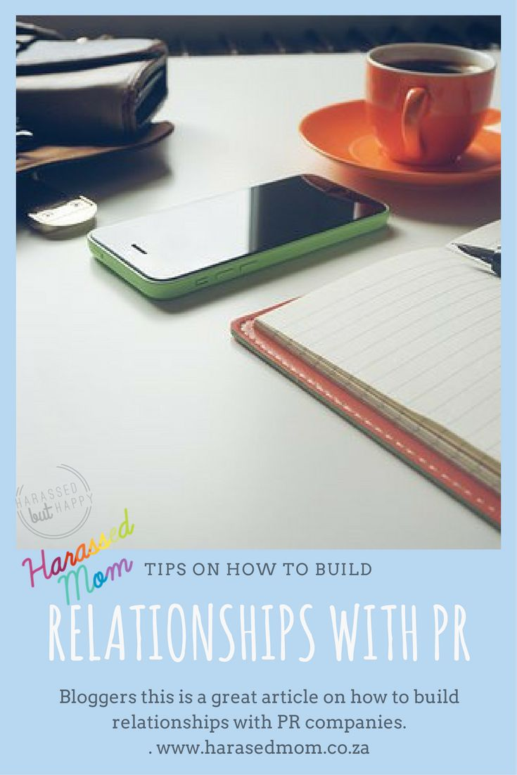 When you decide to take your blog to the next level, building relationships with PR companies is so important. #momblogger #blogging #momblogging #harassedmom