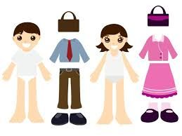 Image result for paper dolls to print