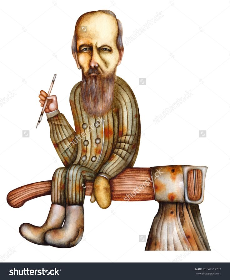 Fyodor Dostoyevsky - Caricature Of The Russian Writer by Eugene Ivanov #fyodor #dostoyevsky #dostoyevsky #eugeneivanov #author #literature #russia #russian #writer #caricature #cartoon #literary_arts, #russian_writer #@eugene_1_ivanov #brothers_karamazov #crime_and_punishment #idiot #poor_folk #white_nights
