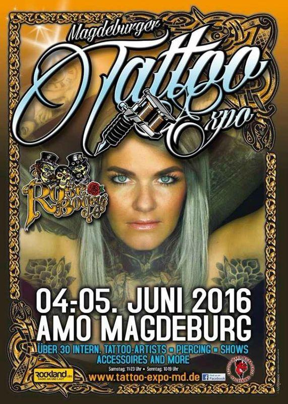Tattoo Expo Magdeburg 04-05 Juin 2016
