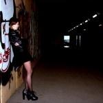 Howlin' for you: Fashion editorial for //SLANG Magazine with Giorgia Alderuccio