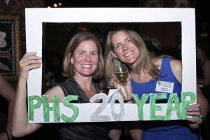 It is easy to make a photo frame prop out of foam core for your high school reunion.