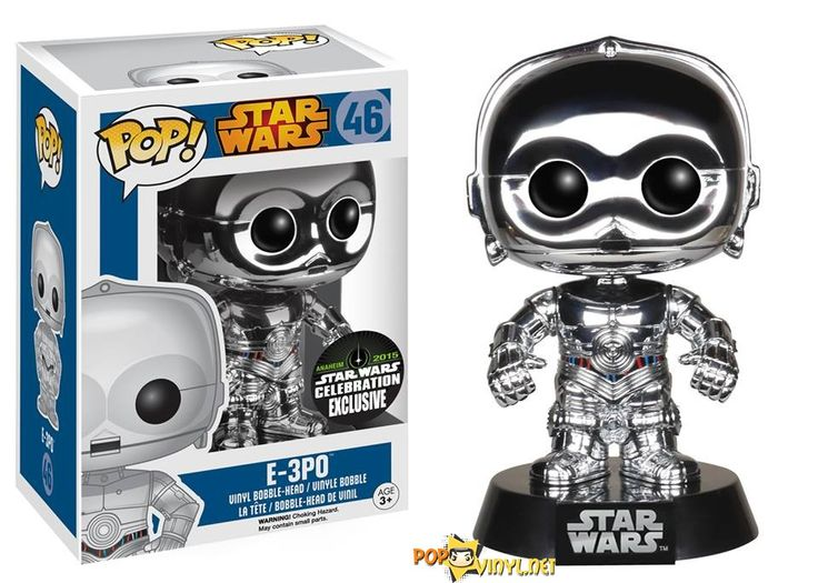 e-3po Funko recently announced that they will be exhibiting at the Star Wars Celebration 2015 held in Anaheim, CA.