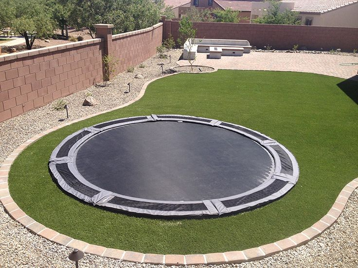 25 best ideas about in ground trampoline on pinterest ground trampoline sunken trampoline. Black Bedroom Furniture Sets. Home Design Ideas