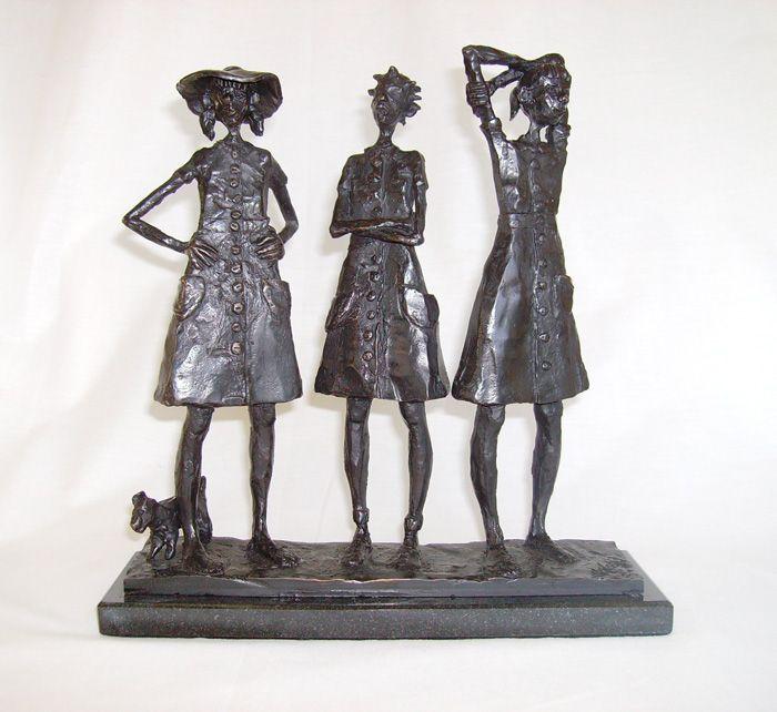 Bronze Sculpture by South African artist: Grace da Costa. www.gracedacosta.co.za