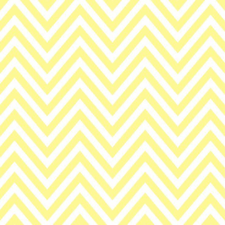 Pattern Pieces - Chevron - butter yellow - Sprik Space - 2400x2400px