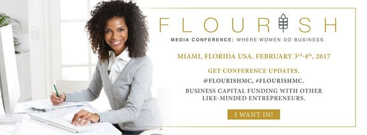 The Flourish Media Conference will be held from February 3 - 4, 2017 at Florida International University in Miami, FL. This two-day conference will dive into online businesses, pitching, empire building, storytelling, generating money through sales funnels, and creating a vision focused staff. Some of the featured guest speakers will include Vanessa James, Founder of Vanessa James Media, Tracy Timberlake, Dominique Broadway, Finances De•mys•ti•fied, D.Bella, Founder of DBELLALOCS.