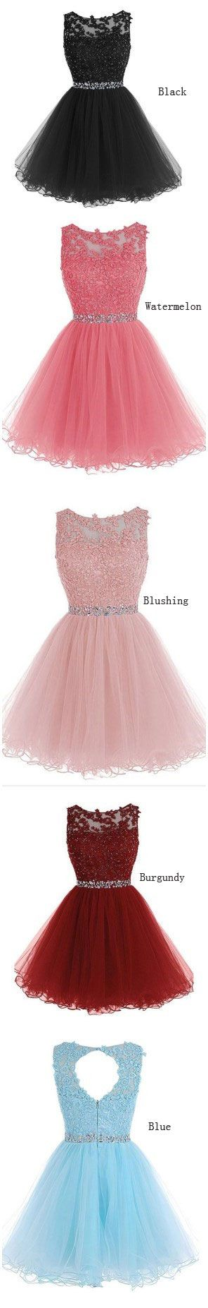 Lace appliqued short homecoming dresses for 2017,short prom dresses,senior formal dresses