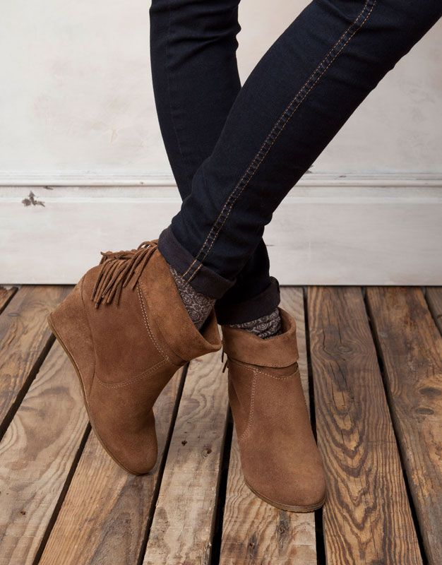 How to wear jeans and booties. I just bought my first pair of booties. I have been in flip flops for the past two years, so this should be interesting!