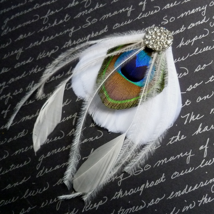 25 Best Feather Headbands And Hair Clips Images On