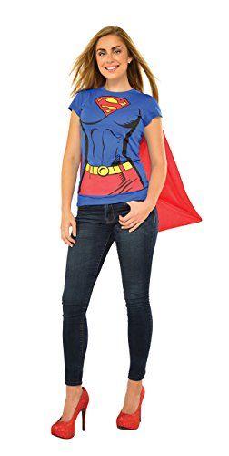 Rubbies - Disfraz de Superman para mujer, talla M (880474_M)