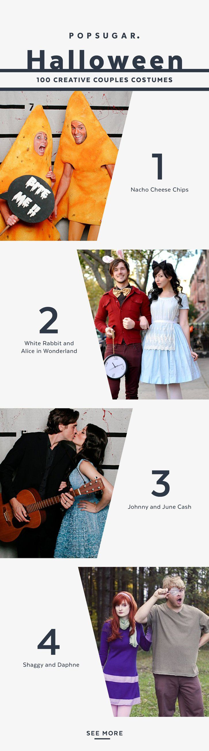 You can be the best dressed couple this Halloween with any of these costumes!