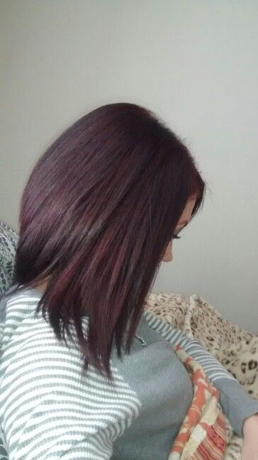 Wella Color Charm 5RV/507 Burgundy   Hair color in 2019 ...
