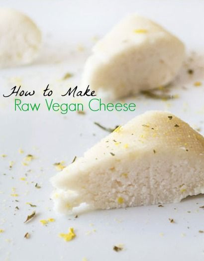 How to make raw, vegan cheese with macademia nuts - super simple technique