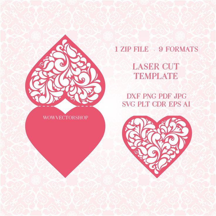 34 best laser cut wedding invitation template images on Pinterest - invitation template