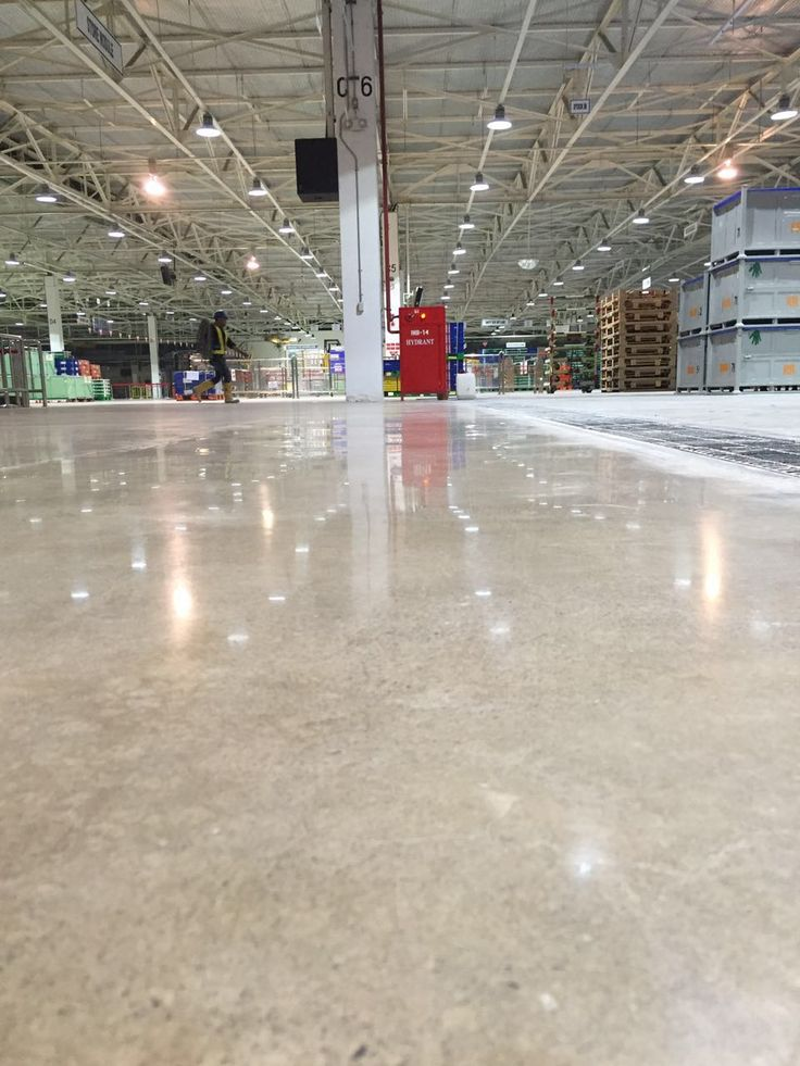 Toyota Manufacturing - Polished Concrete Indonesia