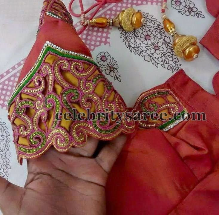 Rich Work Blouse Sleeves