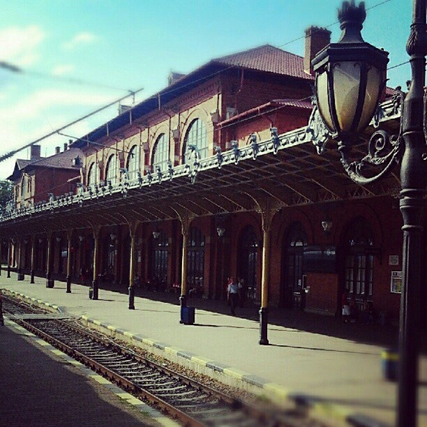 The Railway Station in #Suceava City, #Romania
