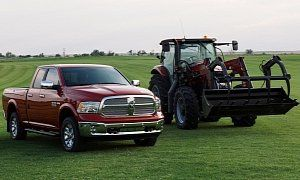 2018 Ram Harvest Edition Lineup Is All About Farm Work :  Billed as  the first truck designed specifically for the agriculture industry  the Harvest Edition differs from the regular model through two exclusive exterior colors: Case IH Red and New Holland Blue.  The Ram Harvest Edition marks the first time that Ram dealers will be able to stock trucks that exactly match the colors of two of the most popular lines of farm equipment in the nation  commented Mike Manley head honcho of the…