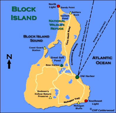 1000 Images About Maps On Pinterest  Block Island
